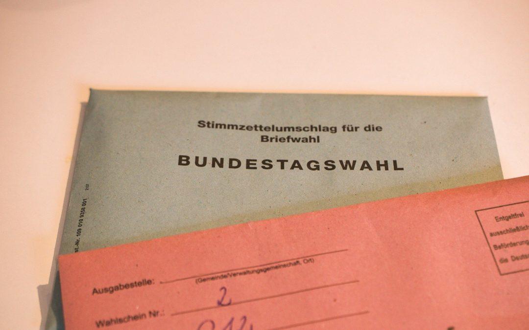 Bundestagswahl am 26.09.2021 – Ergebnisse