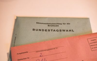 Bundestagswahl am 26.09.2021 – Beantragung Wahlschein (Briefwahl)